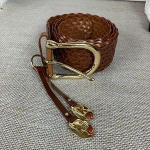 Michael Michael kors leather brown belt.